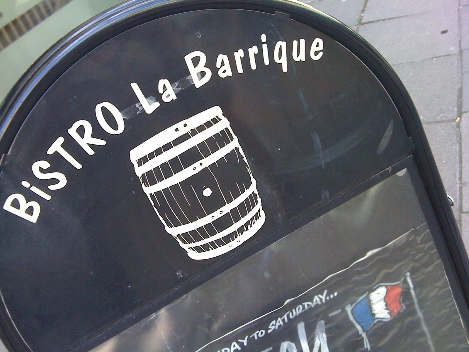 Bistro la Barrique | Plein comme un oeuf, I am full as an egg